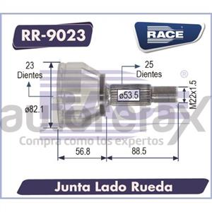 JUNTA HOMOCINETICA RACE - RR9023