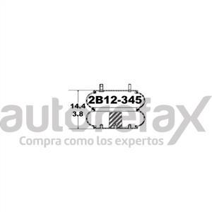 BOLSAS DE AIRE PARA SUSPENSION GOODYEAR - 2B12345
