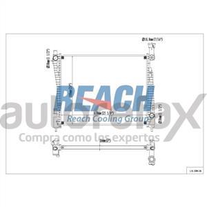 RADIADOR DE ENFRIAMIENTO REACH - REA4113200116