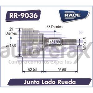 JUNTA HOMOCINETICA RACE - RR9036