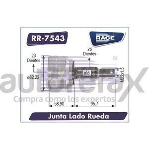 JUNTA HOMOCINETICA RACE - RR7543