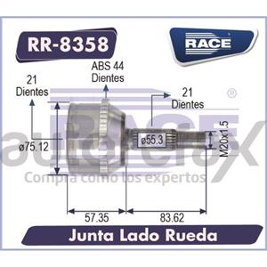 JUNTA HOMOCINETICA RACE - RR8358