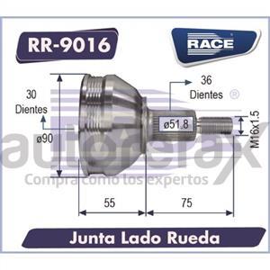 JUNTA HOMOCINETICA RACE - RR9016