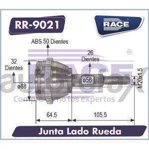 JUNTA HOMOCINETICA RACE - RR9021