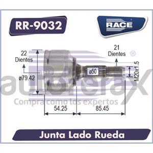 JUNTA HOMOCINETICA RACE - RR9032
