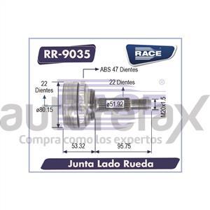 JUNTA HOMOCINETICA RACE - RR9034