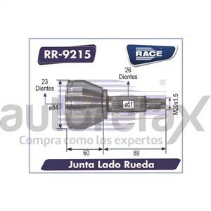 JUNTA HOMOCINETICA RACE - RR9215