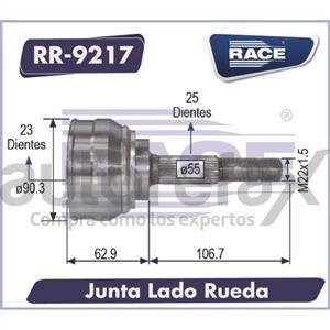 JUNTA HOMOCINETICA RACE - RR9217