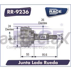 JUNTA HOMOCINETICA RACE - RR9236