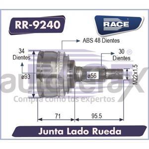 JUNTA HOMOCINETICA RACE - RR9240