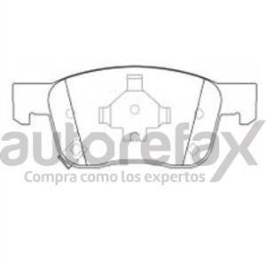 BALATA FRENO DE DISCO REMSA - 9167D1942RMS