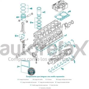 MEDIA REPARACION PARA MOTOR MORESA - CMR7040530NGDST