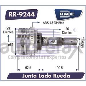 JUNTA HOMOCINETICA RACE - RR9244