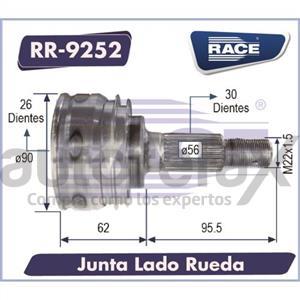 JUNTA HOMOCINETICA RACE - RR9252