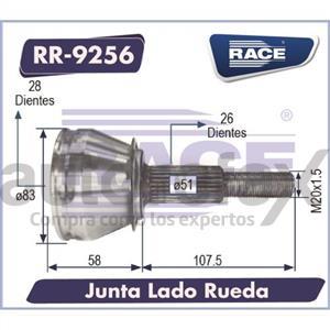 JUNTA HOMOCINETICA RACE - RR9256