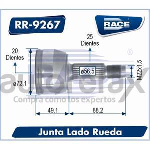 JUNTA HOMOCINETICA RACE - RR9267