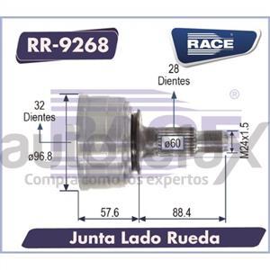 JUNTA HOMOCINETICA RACE - RR9268