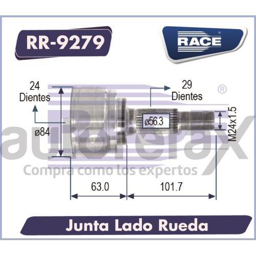 JUNTA HOMOCINETICA RACE - RR9279