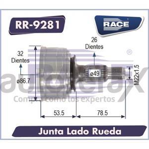 JUNTA HOMOCINETICA RACE - RR9281