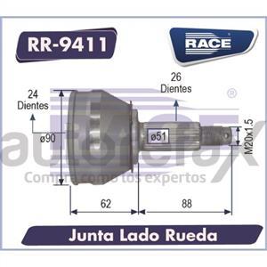 JUNTA HOMOCINETICA RACE - RR9411