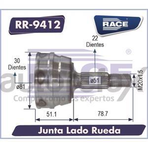 JUNTA HOMOCINETICA RACE - RR9412