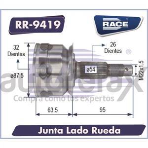 JUNTA HOMOCINETICA RACE - RR9419