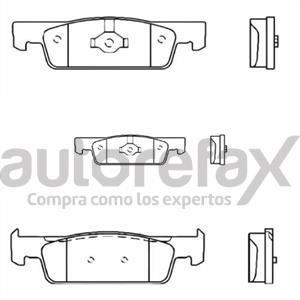 BALATA FRENO DE DISCO RAYBESTOS - 90611830PG