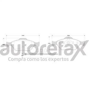 BALATA FRENO DE DISCO GP1 - GP82891175SM
