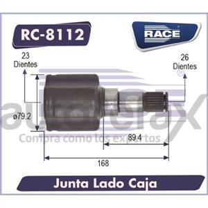 JUNTA HOMOCINETICA RACE - RC8112