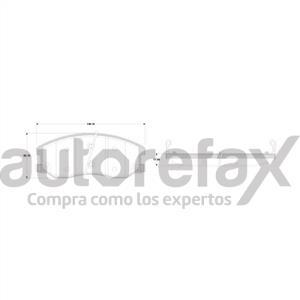 BALATA FRENO DE DISCO RAYBESTOS - 83811264PG