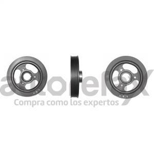 POLEA DE CIGUENAL O DAMPER CHROMITE - PC2003