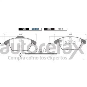 BALATA FRENO DE DISCO GP1 - GP82121107SM