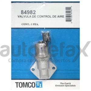 VALVULAS DE CONTROL DE AIRE EN MARCHA MINIMA (IAC) TOMCO - 84982