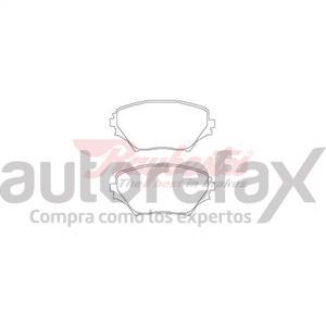 BALATA FRENO DE DISCO RAYBESTOS - 7738862SM