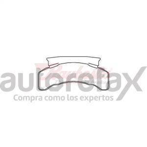 BALATA FRENO DE DISCO RAYBESTOS - 7807224SM