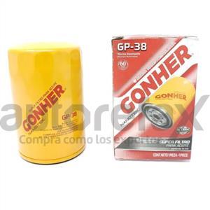 FILTRO DE ACEITE GONHER - GP38M