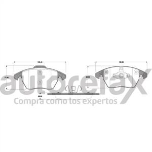 BALATA FRENO DE DISCO RAYBESTOS - 82121107PG